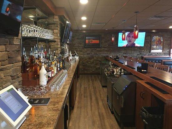 Rustburg, Virginie : New bar area