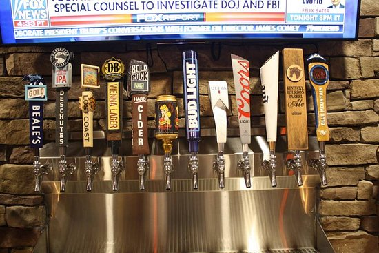 Rustburg, VA: Domestic and craft beer on tap