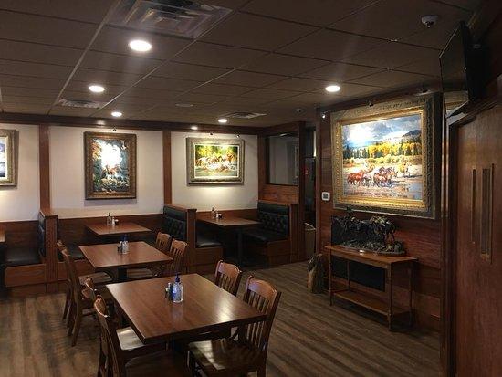 Rustburg, VA: New dining area