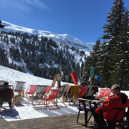 Terrasse Ensoleillee Picture Of L Epicea Flaine Tripadvisor