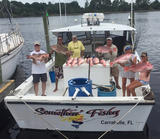 Carrabelle, Flórida: Red Snapper Charter