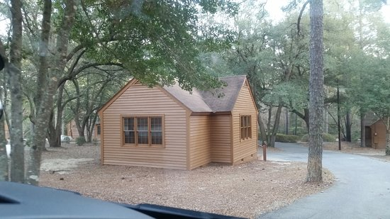 Cheraw, Güney Carolina: One of the rental cabins