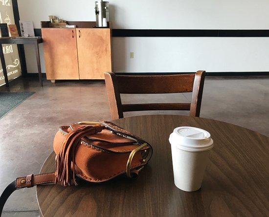 pura is a small but welcoming coffee shop a cortado to go is rh tripadvisor com