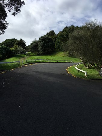 Devonport, Neuseeland: We chose to walk down on the paved road