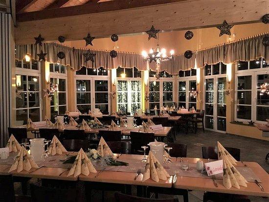 Restaurant Burgergarten - Dobeln: Weihnachtsfeier