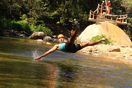 Canopy River: Zipline down the river