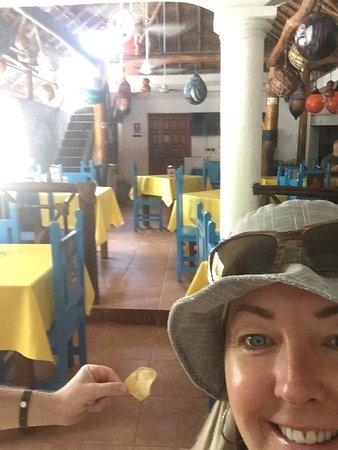 La Perlita : liked the interior