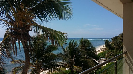 Bodden Town, Grand Cayman: view from second floor