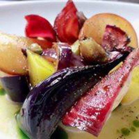 Quedillac, Франция: nos assiettes!