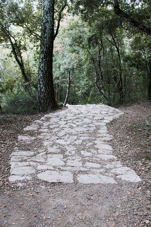 Sillans-la-Cascade, Frankreich: Sentier aménagé et balisé