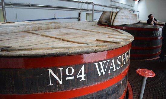 Tobermory Distillery: Fermentation.