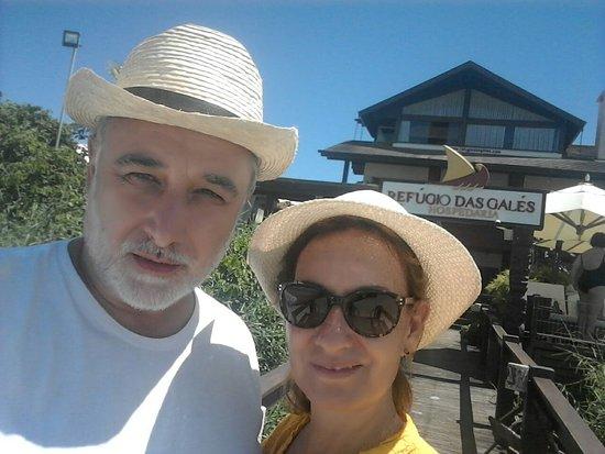 Refúgio Das Galés: Salida a la playa. fuimos en el mes de marzo , cinco días inolvidable .