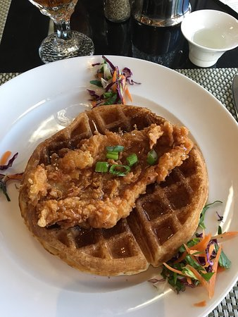 Larry B's Rhythm Room featuring Hazel's Gourmet Chicken and Waffles