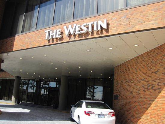 The Westin Toronto Airport: exterior sign