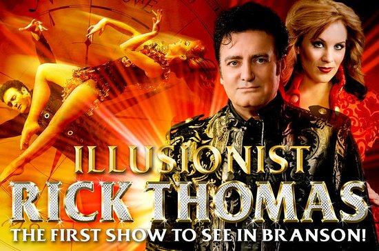 Illusionist Rick Thomas Show in...
