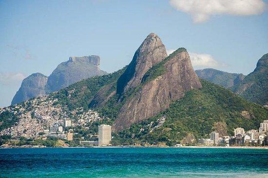 Två Brothers Hill Vandring i Rio de ...