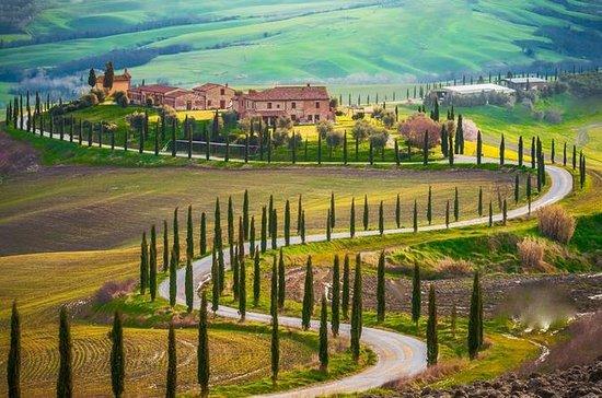 Die Toskana an einem Tag von Siena