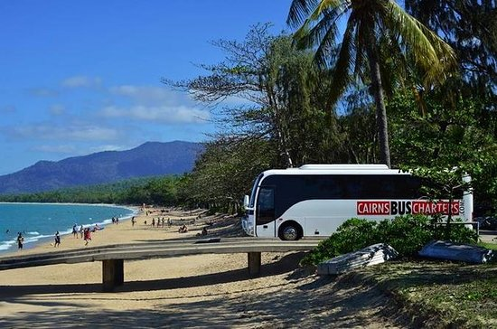 Private Departure Transfer 13 seat vehicle: Port Douglas to Cairns