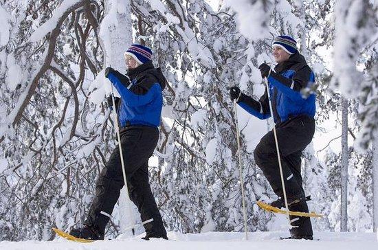 森の雪遊び旅行