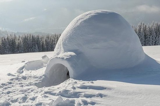 Building a Snow Igloo
