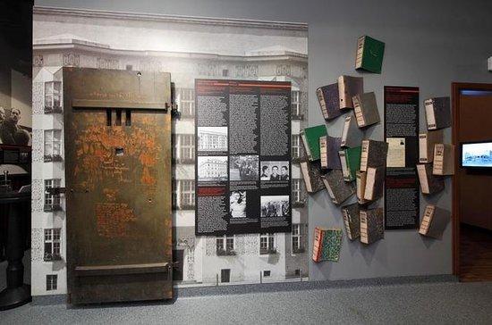 Bilhete de entrada na sede da Gestapo