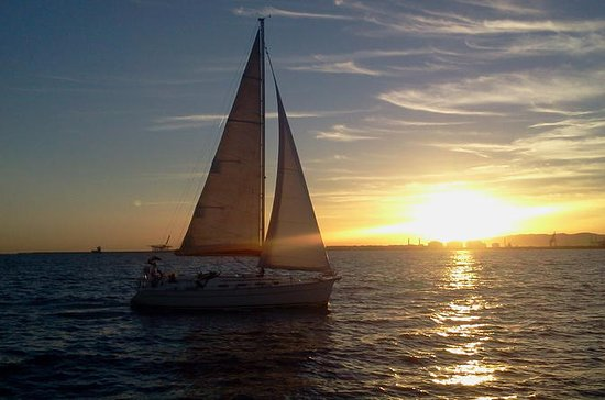 Sailing boat: sunset cruise from the...