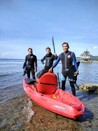 Jagna, Filippinene: Free diving boys