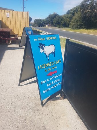 Cape Woolamai, Αυστραλία: Signage