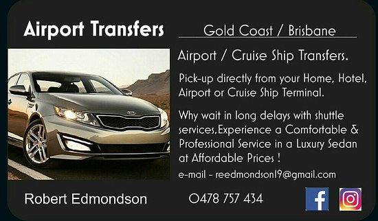 Airport Transfers Gold Coast Brisbane Australia Address Phone