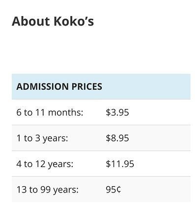 Koko's Activity Centre