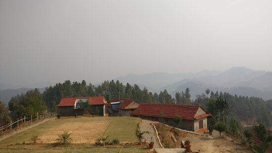 Balthali, Nepal: View from the Hotel
