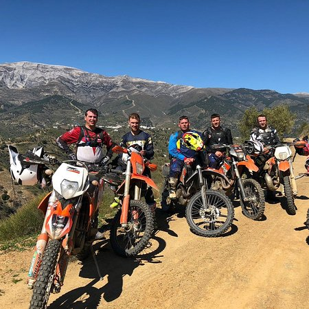 Offroad motorcycle tour