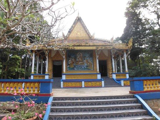 Soc Trang, Βιετνάμ: お寺の正面