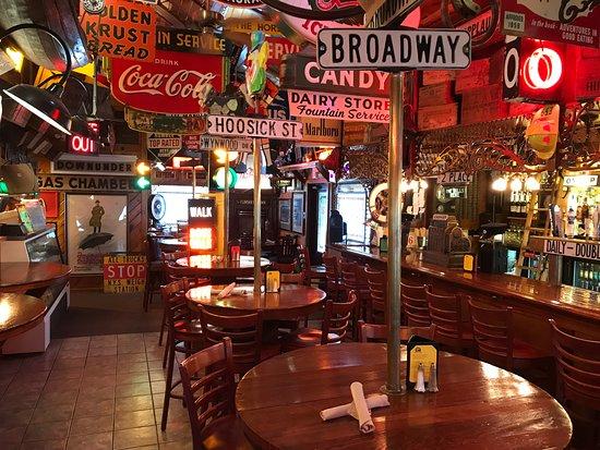 Hoosick Falls, NY: Front entrance view of bar area