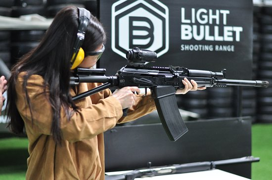 Si Racha, Thailand: Light bullet shooting range the best indoor in Thailand