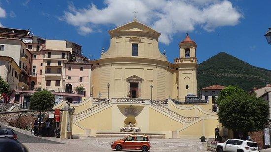 Chiesa di Sn Leonardo e S. Erasmo, Roccagorga, LT.