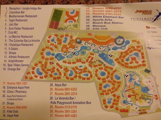 Map Picture Of Jungle Aqua Park Hurghada Tripadvisor