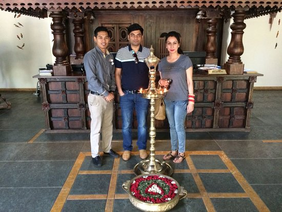 Kunjithanny, Индия: Happy Guest Mr Vevika Sharma.