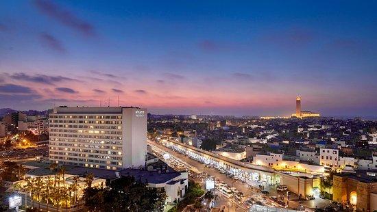 Hyatt Regency Casablanca: Vue de l'hôtel