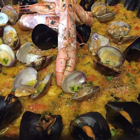 Paella Di Pesce Ottima Foto Di La Fornace Mestrino Mestrino