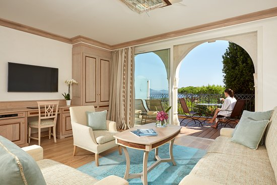 شاتو دو لا ميساردير: Suite avec vue sur le golfe de Saint-Tropez