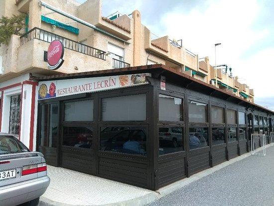 Lujar, Испания: Restaurante Lecrin