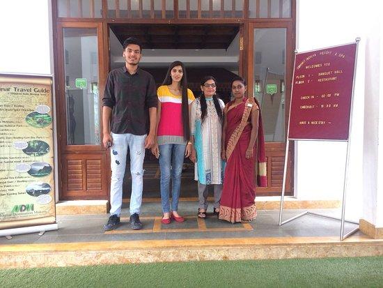 Kunjithanny, Индия: Happy Guest Mr & Mrs Soman Preet.