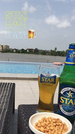 Radisson Blu Anchorage Hotel, Lagos: Cheers!