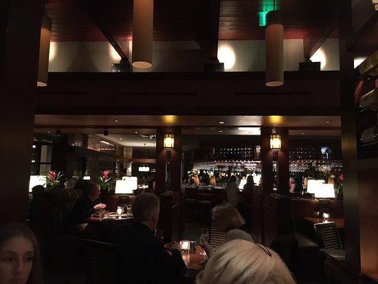 Seasons 52: Interior of restaurant