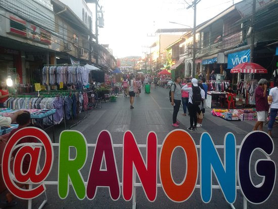 Walking Street Ranong