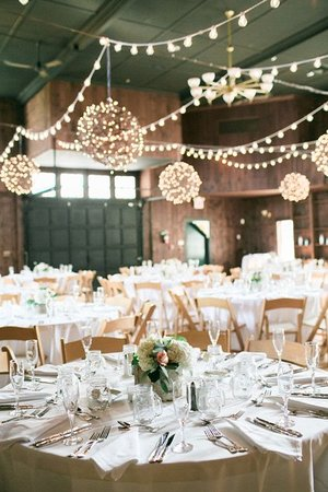 The Inn at Mount Hope Farm: A party in the Barn