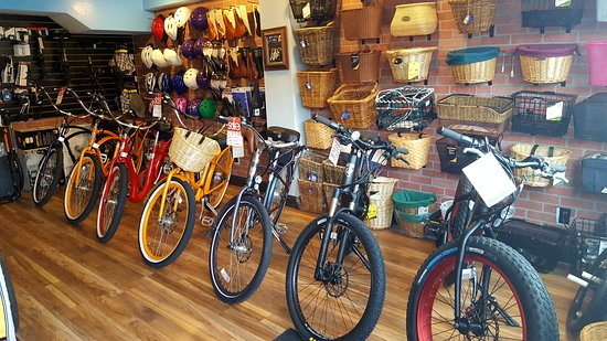 Pedego Electric Bikes: Inside the bike shop