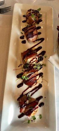 Gibbsboro, NJ: bacon wrapped scallops