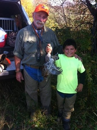 Pittsburg, NH: Hire one of our upland bird hunting guides.